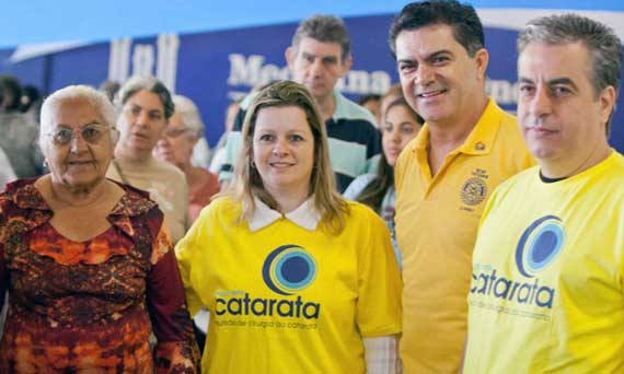 ARICANDUVA – Mutirão da Catarata agenda mil cirurgias