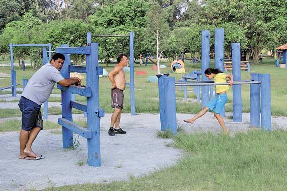 GRATUITO – Parque Ecológico oferece academia