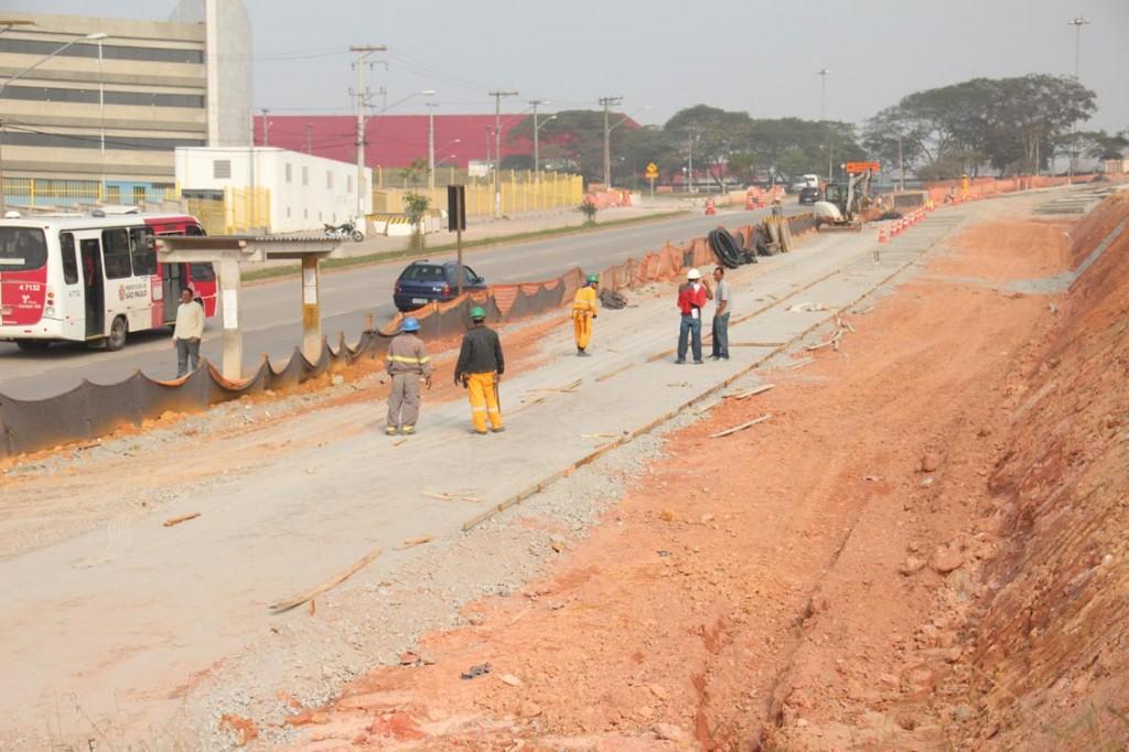 Complexo Viário Itaquera: obras estão 35% concluídas