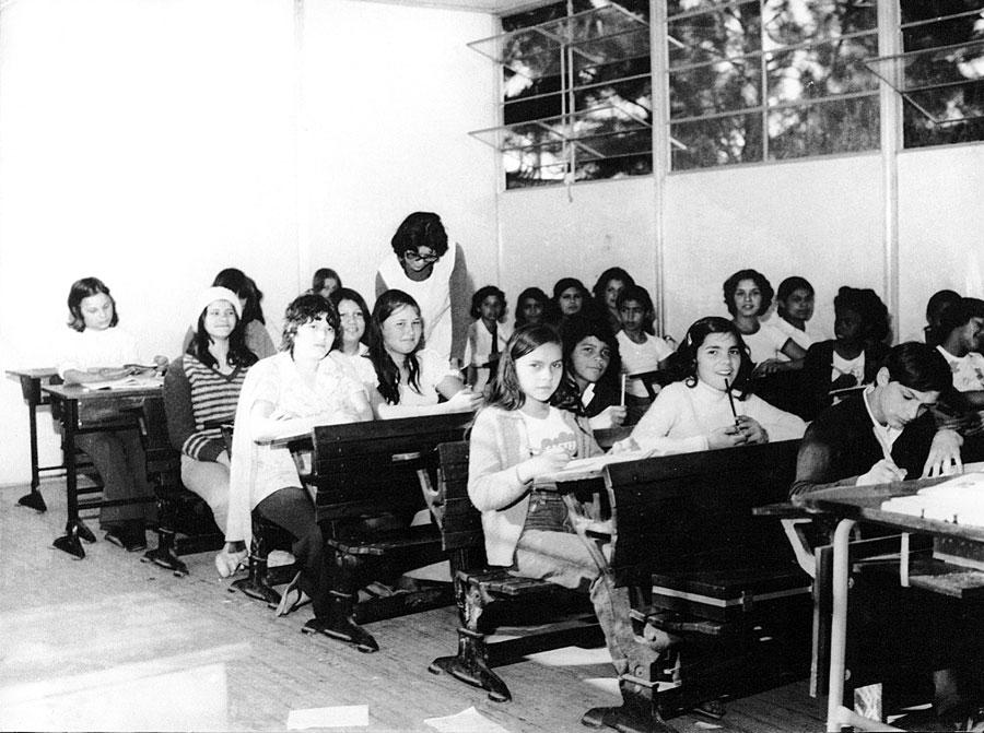 O Educandário São Paulo foi fundado em 1936, somente para a educação das mulheres
