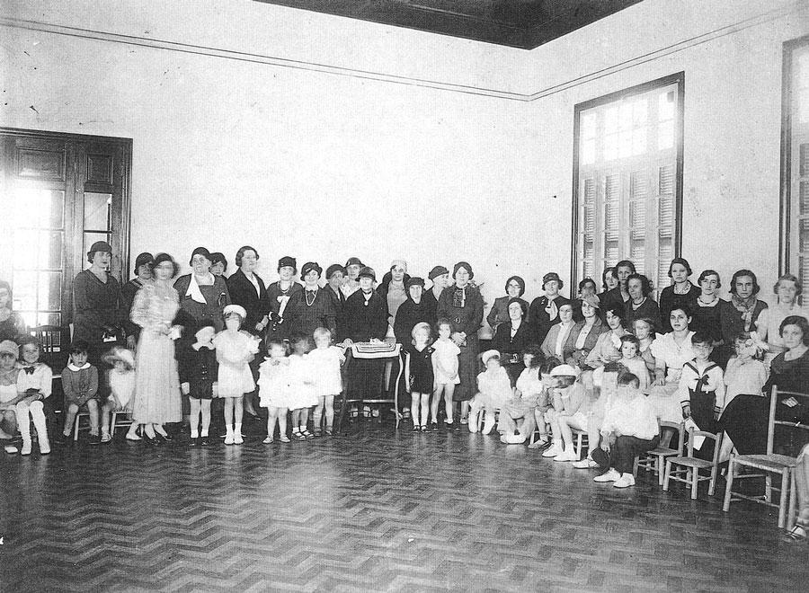 A partir de 1934, o Lar Anália Franco passou a ocupar novo prédio