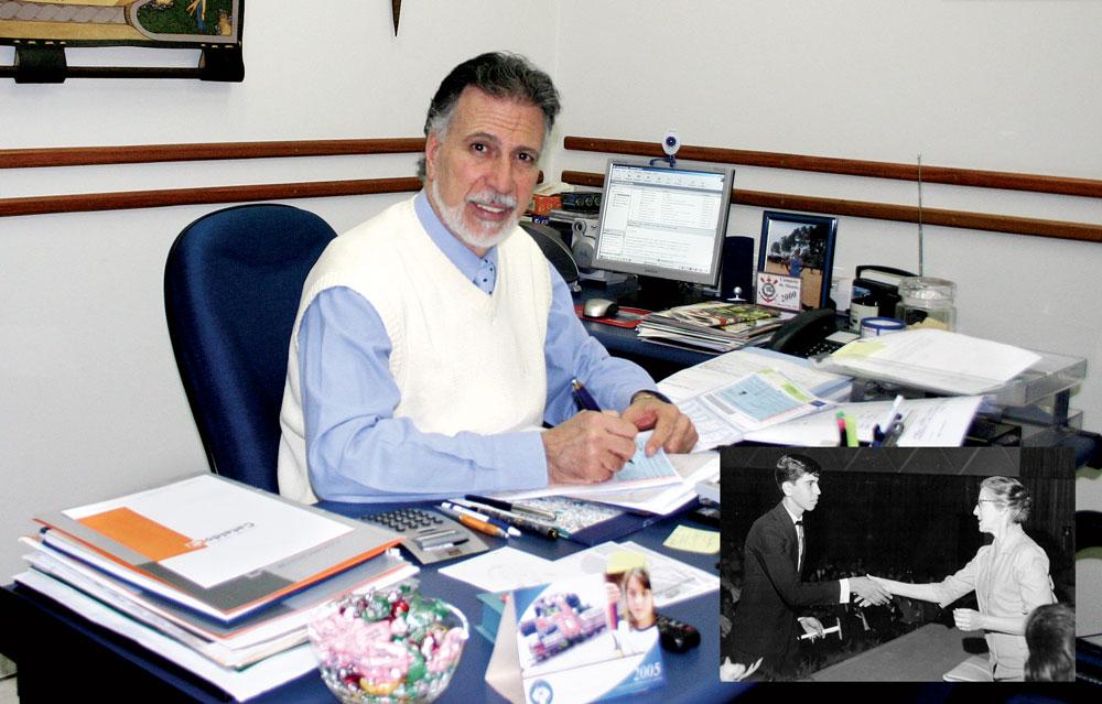 """""""Ninguém deixava de fazer a tarefa de casa ou fazia bagunça em sala."""", Osmar Basílio, diretor e professor"""