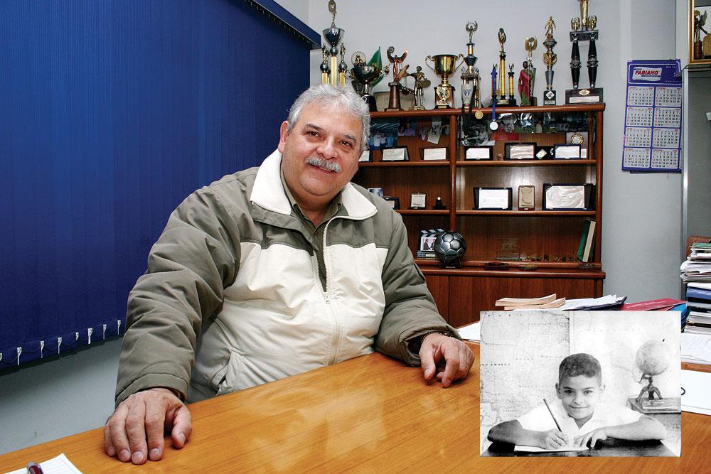Fabiano relembra que era impossível não brincar com o nome do colega Sumio Moraskiti na hora da chamada