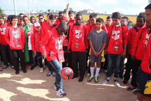 Love.fútbol inaugura quadra em Itaquera