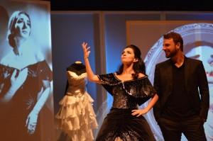 'Callas', com Claudia Ohana