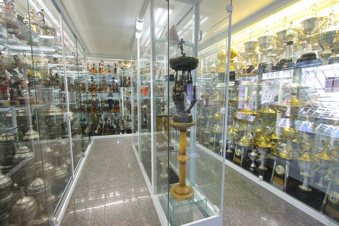 'Sala de Troféus' do Sampaio Moreira será inaugurada