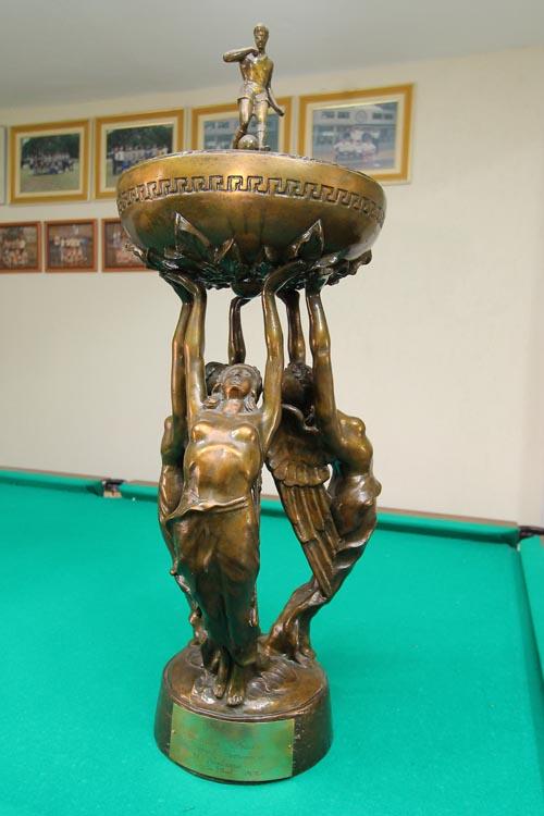 """O troféu """"IV Centenário da Cidade de São Paulo"""" está entre as conquistas mais importantes"""
