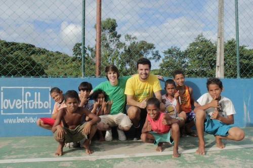 Projeto visa oferecer um espaço seguro de jogo para a prática do futebol