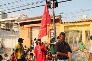 MTST faz passeata no Tatuapé
