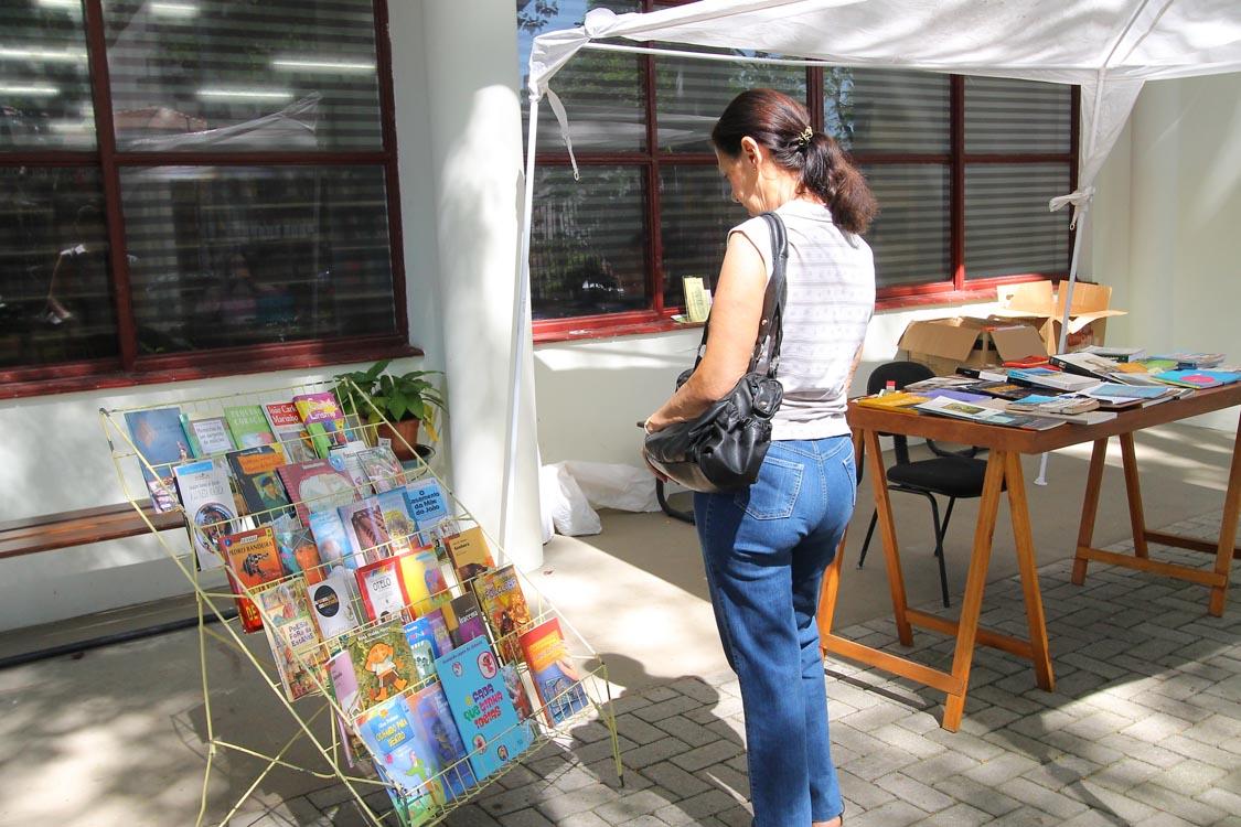 BIBLIOTECA – Tatuapé tem feira do livro