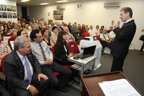 """Valdir Ventura apresentou a palestra """"Gestão de Transformação – Uma história de sucesso empresarial"""""""