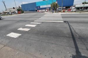 O que aconteceu com as faixas de pedestres no Tatuapé?