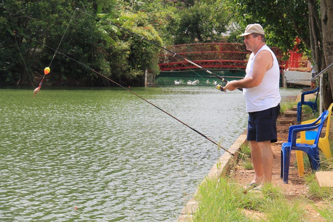 Pesca esportiva no CEP