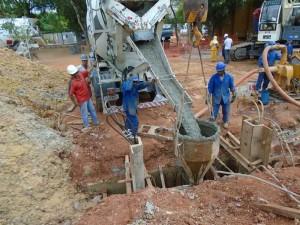 Túnel da Radial segue em obras