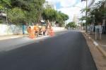 Obras de drenagem no Largo São Rafael