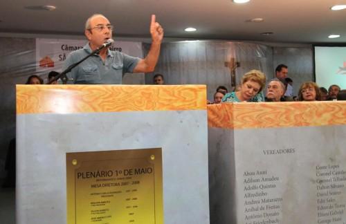 Os moradores tiveram a oportunidade de se pronunciar, fazer reivindicações e apresentar sugestões de melhorias
