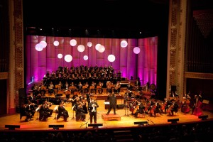 Orquestra grava CD e DVD