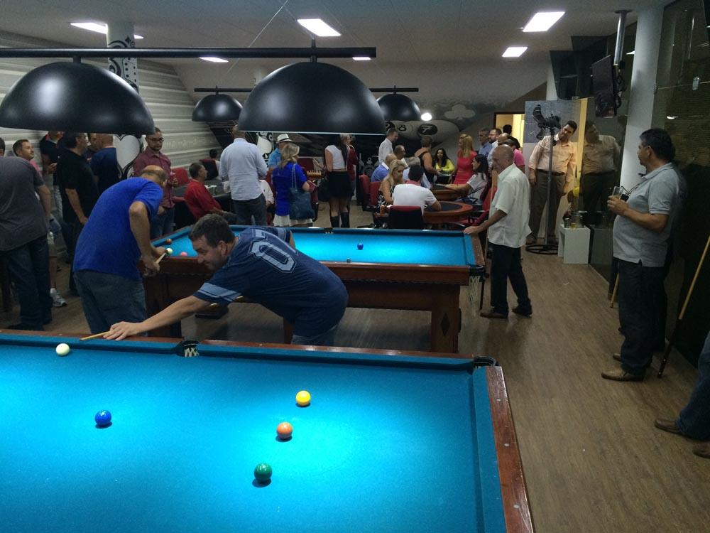 Corinthians inaugura salão de jogos