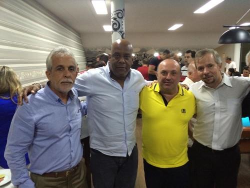Da esq.: Onofre, André Luiz, Ronaldo e Donato