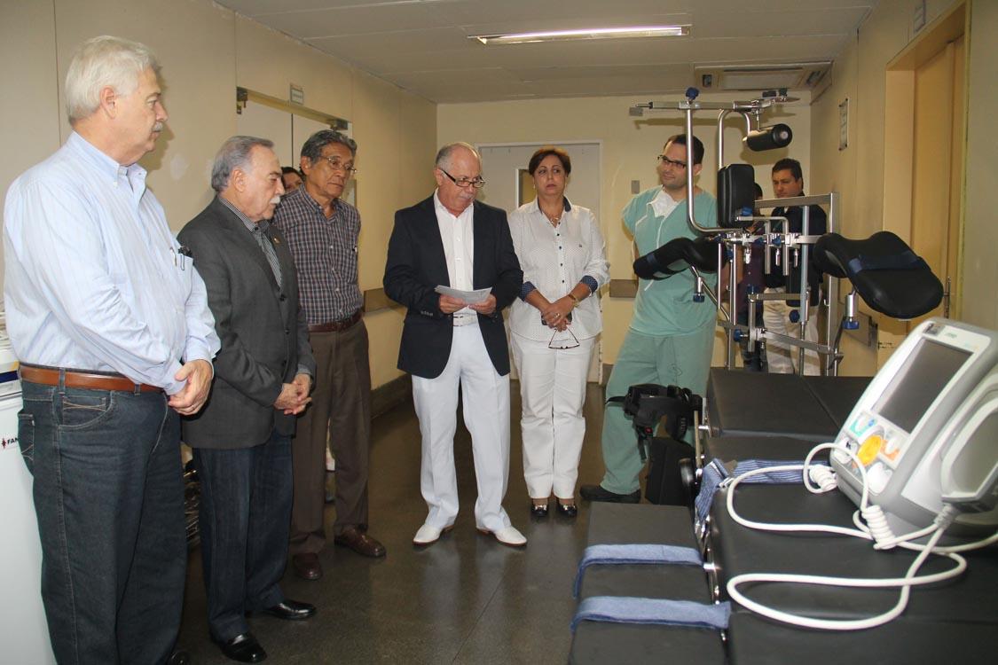 HMT – Verba parlamentar ajuda na aquisição de equipamentos