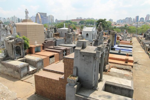 Cemitérios sofrem com furtos
