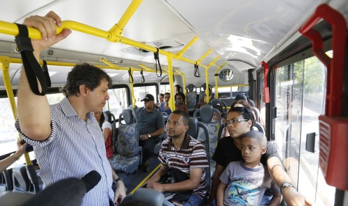 Itaquera é o bairro mais visitado por Haddad