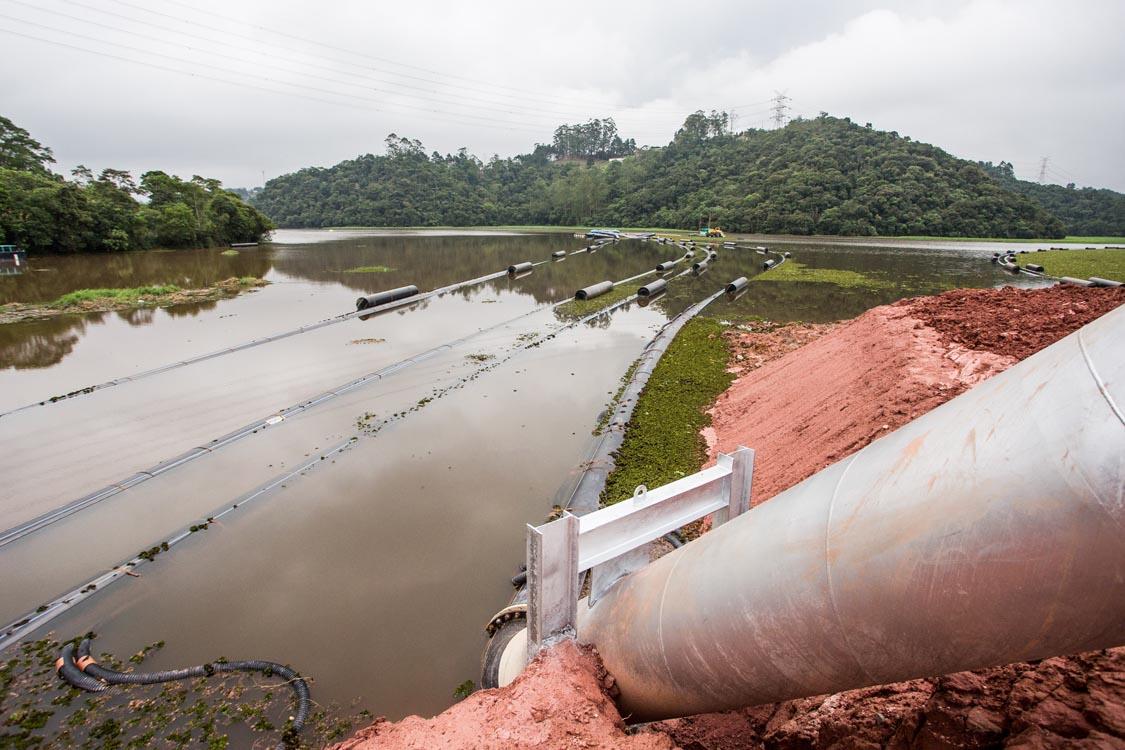 Abastecimento – Obra beneficiará bairros na ZL  como Tatuapé, Mooca e Belém