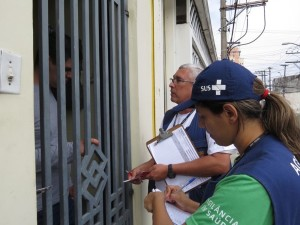 Dengue – Visitas visam evitar novo surto