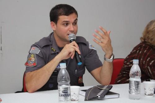 Capitão Lima, comandante da 1ª Cia. do 8º BPM/M, disse que aumentará as rondas