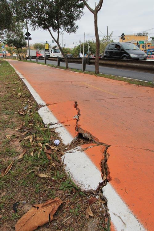 CICLOVIA DA RADIAL – Ciclistas estão com receio