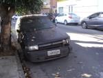 Carros abandonados: limpeza fica comprometida