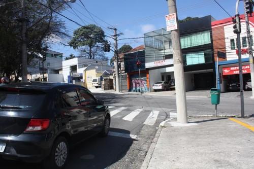Novos semáforos no Tatuapé