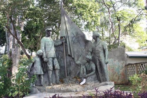 O Monumento Pátria e Família requer mais atenção das autoridades competentes