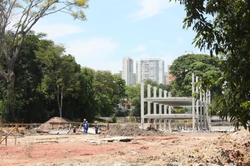 Obra dos prédios da Educação e Cultura está mais atrasada do que a do prédio Esportivo