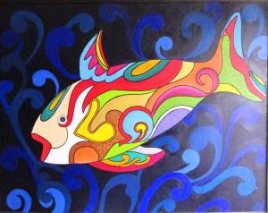 Exposição 'Peixes'