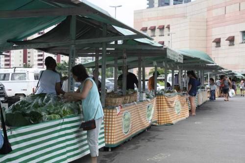 Ceret – Feira de orgânicos acontece toda terça-feira
