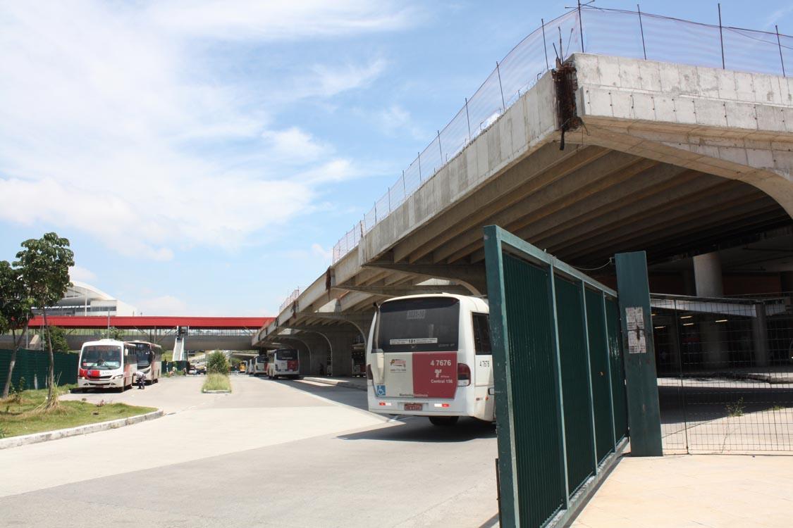 Terminal Urbano Itaquera – Conclusão da obra depende de verba federal
