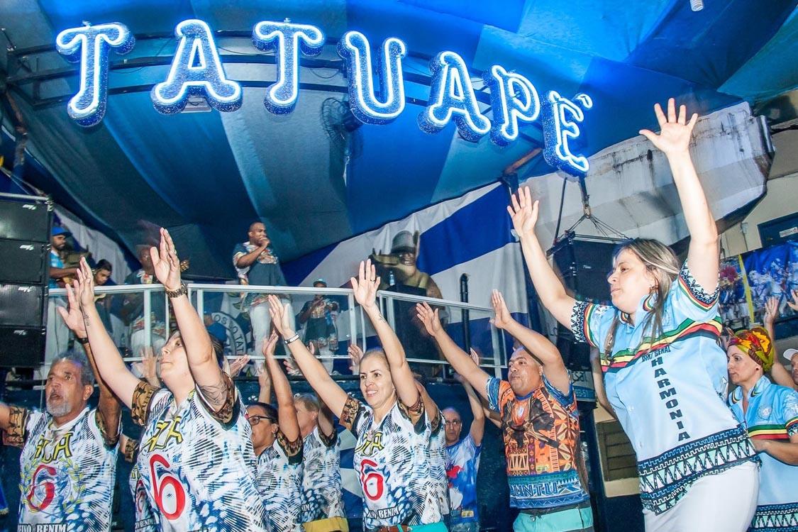 Acadêmicos do Tatuapé ainda 'grita' é campeã!