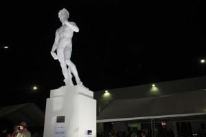 Estátua de Davi: nova outra vez