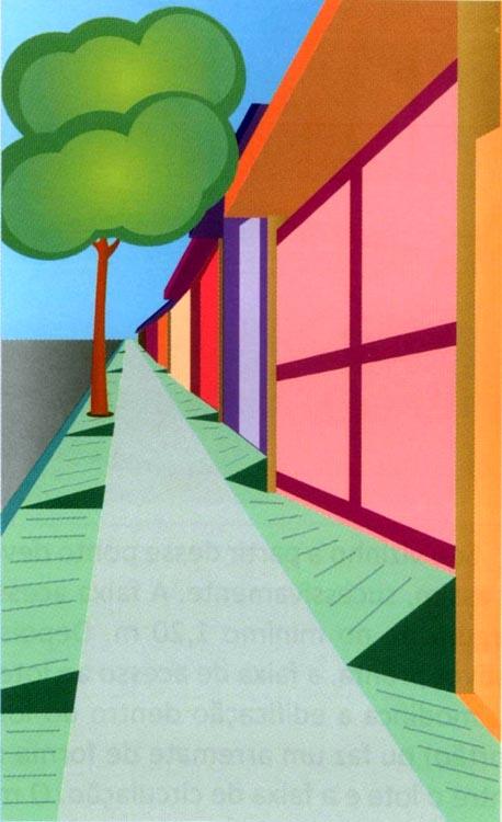 ilustracao rua inclinada prefeitura - reproducao