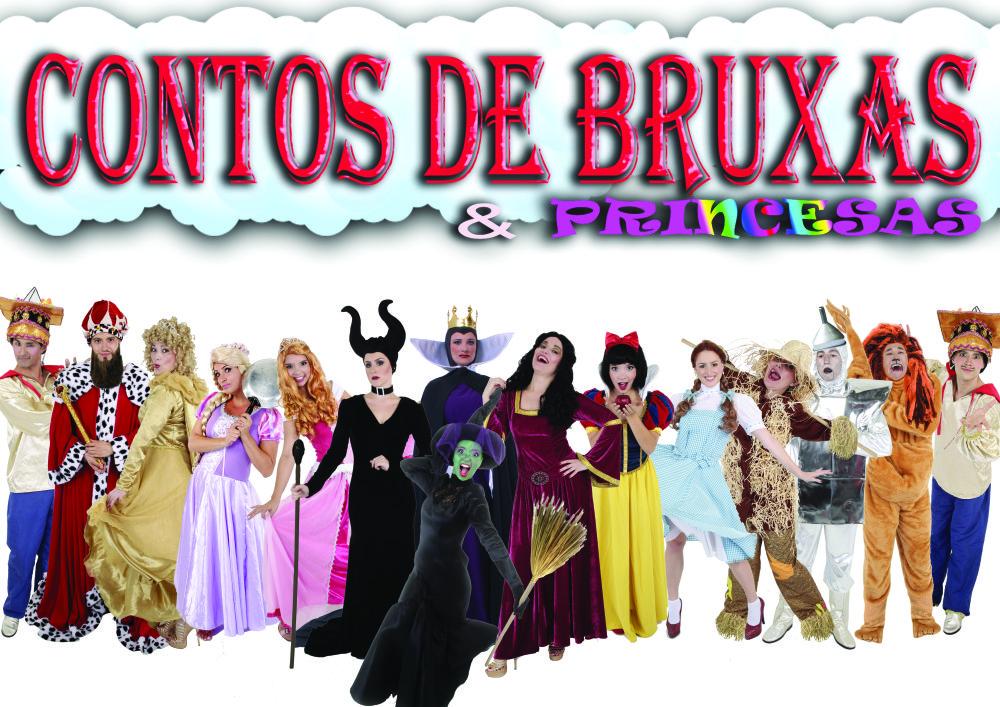 Contos de Bruxas e as Princesas