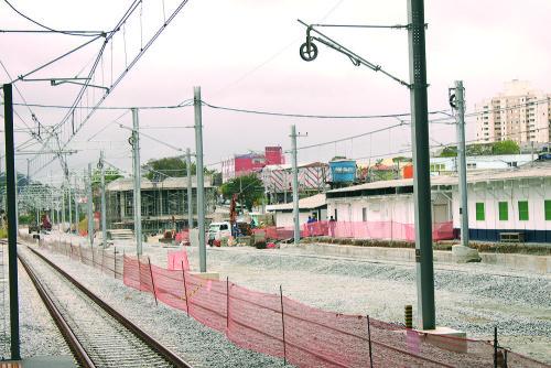Obras continuam para a interligação da estação com a Linha 13-Jade