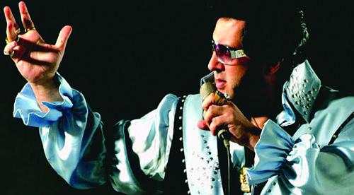 Gilberto Augusto homenageia Elvis em dois shows