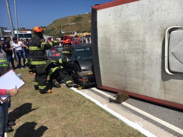 1º Simulado de Catástrofe Santa Marcelina é realizado em Itaquera